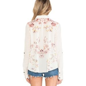 Free People Party in the Back Top Stone Combo M